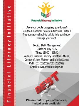 Invitation _ Public Talk on Debt Management