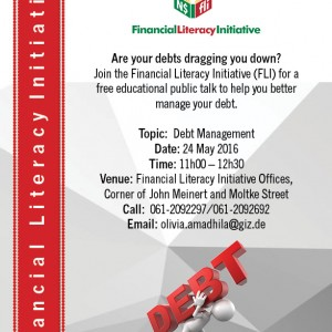 Invitation _ Public Talk on Debt Management