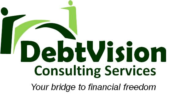 Debt Vision Logo with slogan
